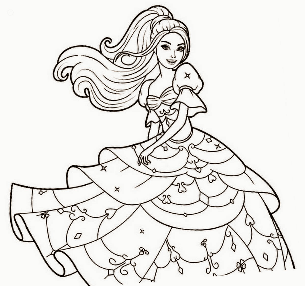 barbie-princess-charm-school-coloring-pages-electic-about-barbie-coloring-page