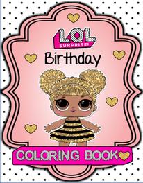 LOL Mini Coloring Book