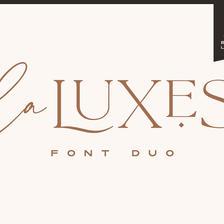 La Luxes - Font