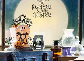 NEW NIGHTMARE BEFORE CHRISTMAS SCENTSY COLLECTION