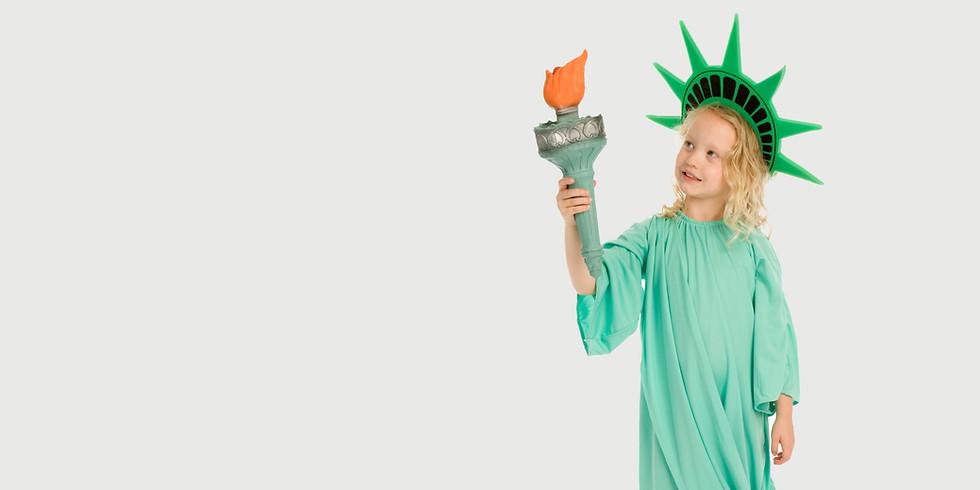 "Sesiune ""Curiozitati si legende""- Statele Unite ale Americii  (8-11 ani)"