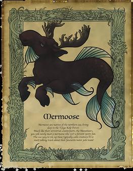 Mermoose Art Print