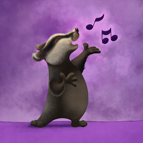 Singing Badger