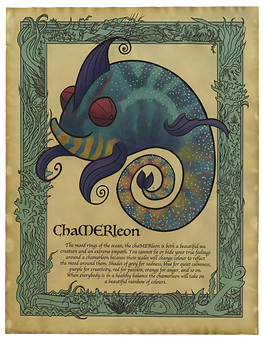 ChaMERleon Art Print