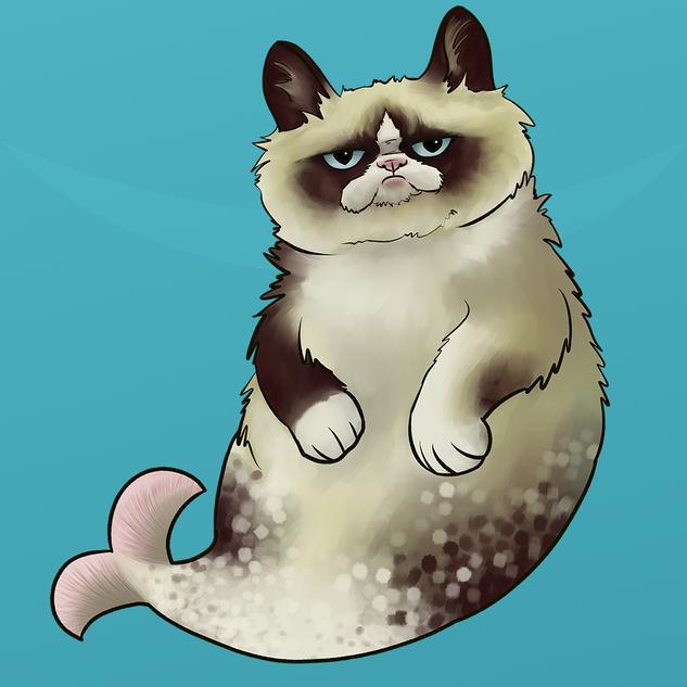 Tardar-Fish (aka Grumpy Cat)