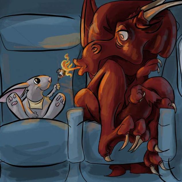 Accommodating Dragon (Illustration)