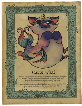 Catterwhal Art Print