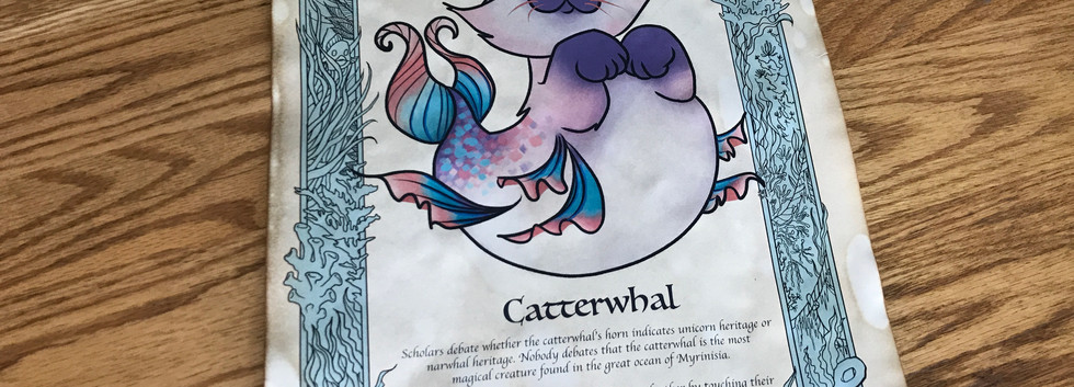 Catterwhal Print