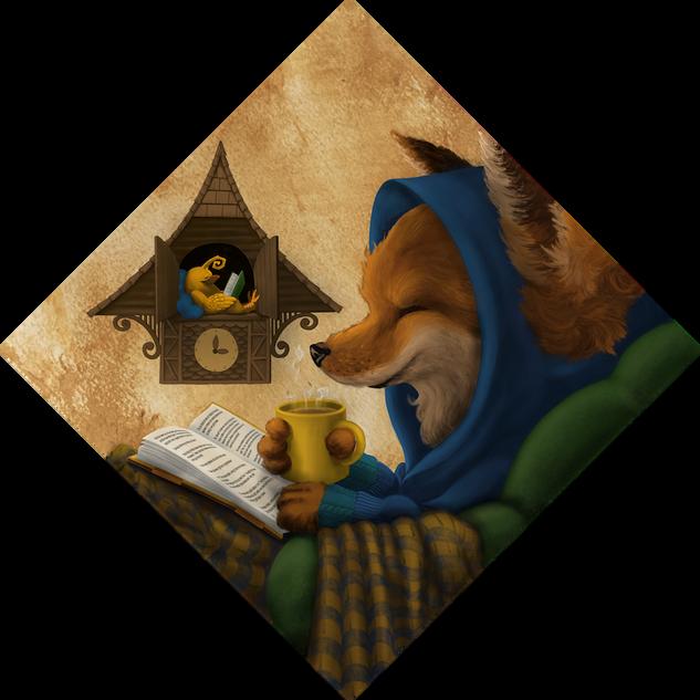 Fox and Friend (Bookmark)