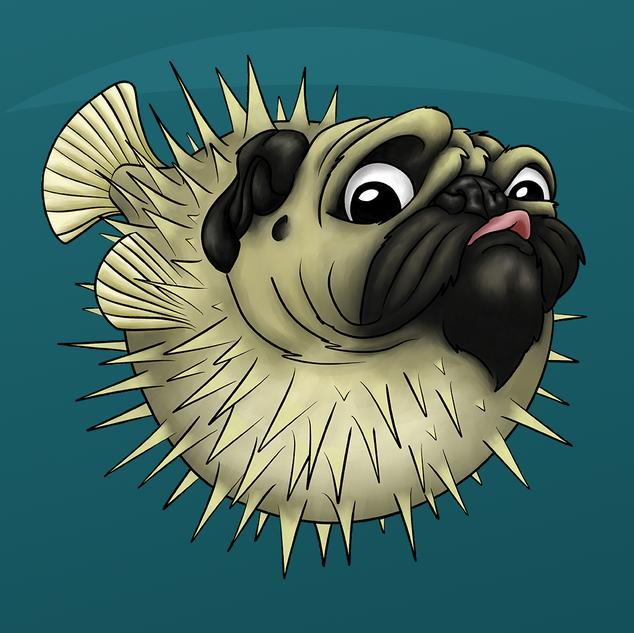 Puggerfish ALARMED!