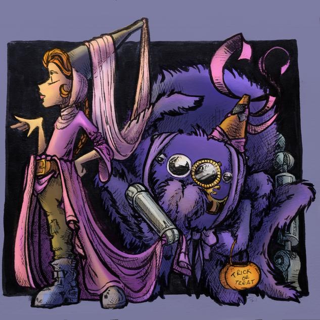 Miss M Halloween (Corner Witch Shop)