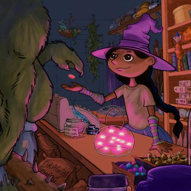 Fairy Lights (Corner Witch Shop)