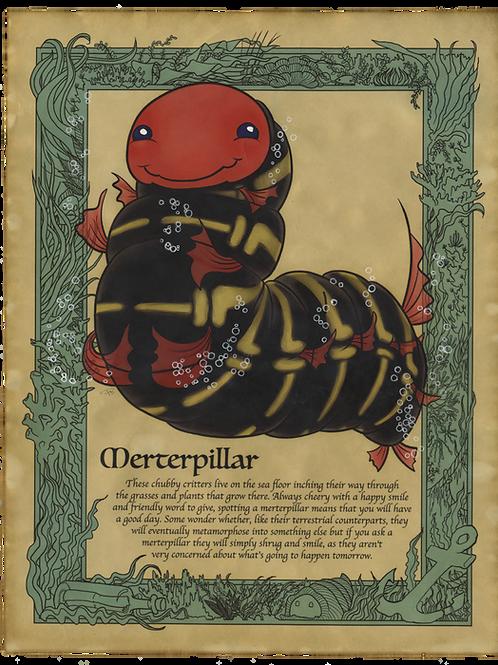 Merterpillar Art Print