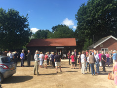 Opening Day at Bentley Community shop