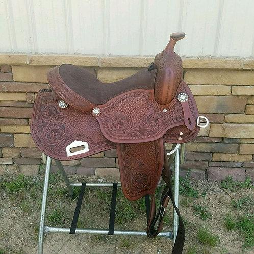 "15"" Right Fit Barrel saddle"