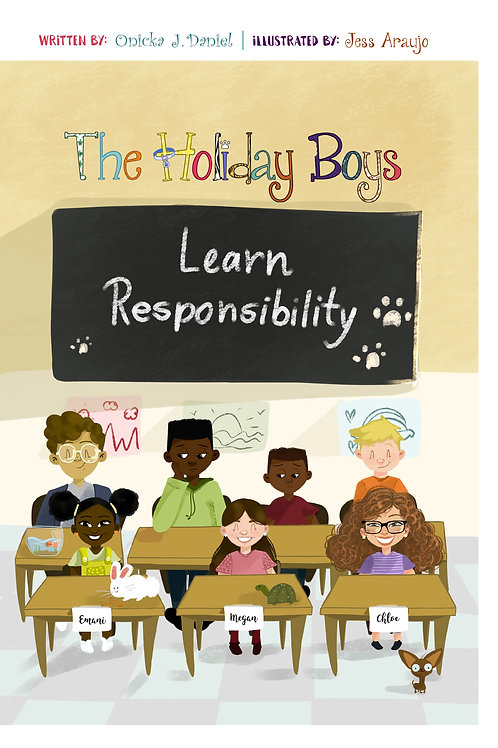 The Holiday Boys® - Learn responsibility,  (English)