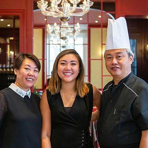 Équipe Japanhao restaurant Chinois à Mulhouse