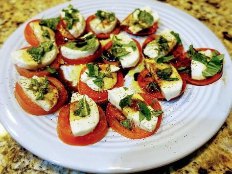 Keto Caprese Salad Recipe