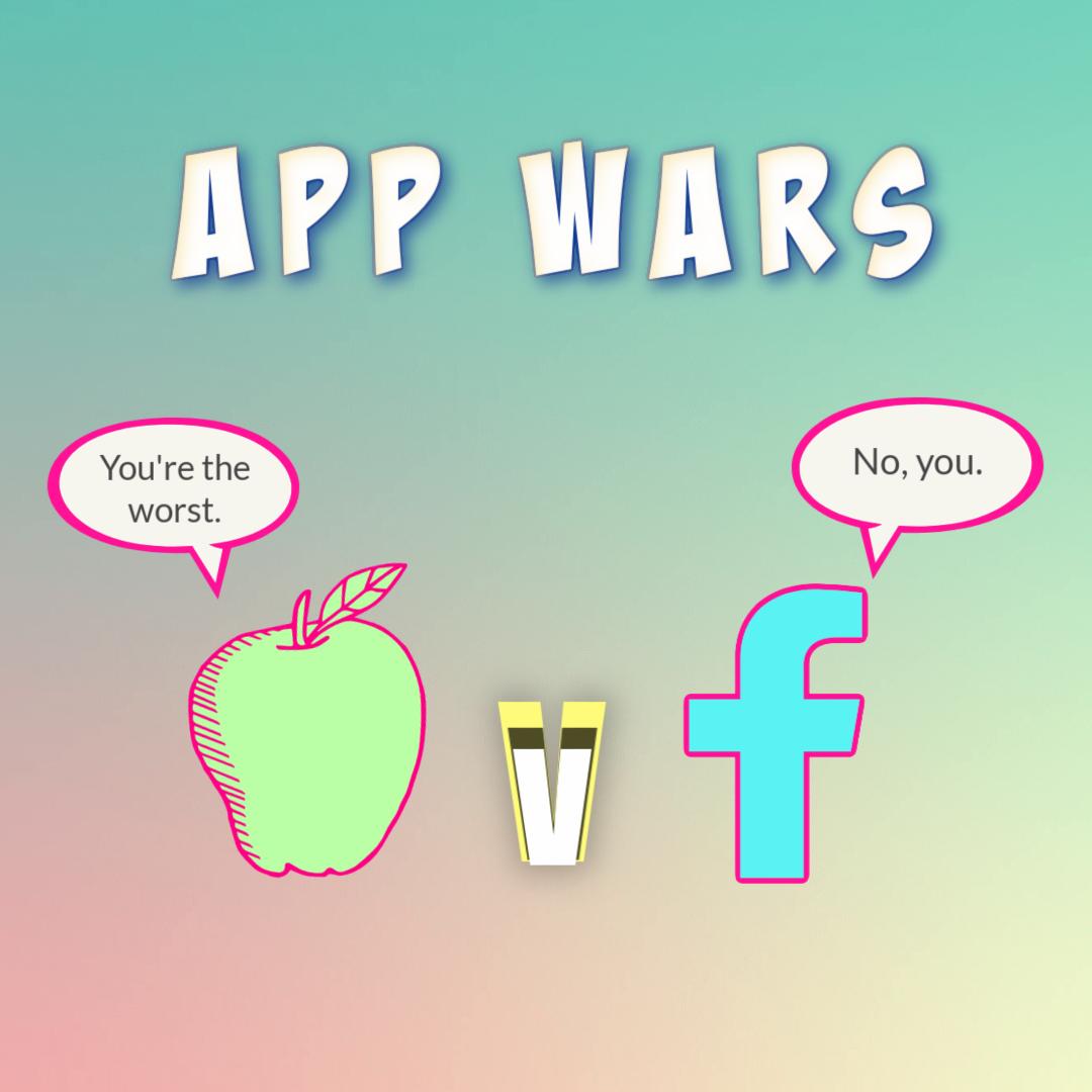 Apple Verses v Facebook News Blog Cover