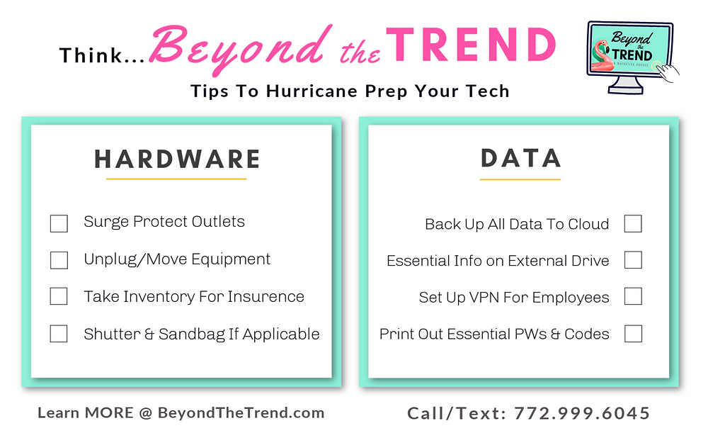 Beyond The Trend Hurricane Protection Protect Your Tech Florida Business
