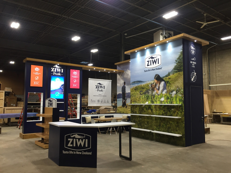 2020 Ziwi Tradeshow Booth