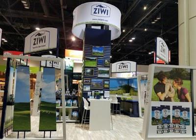 Ziwi 2017 Tradeshow Booth