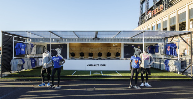 "Nike ""Pop Up"" Store for the 2015 World Series"