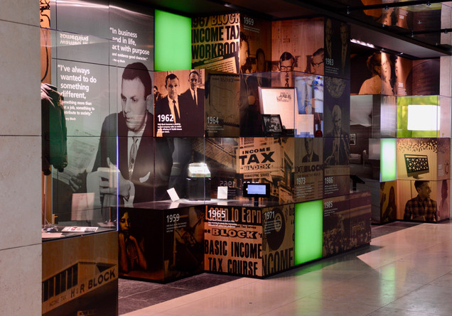 H&R Block Living Archive Wall