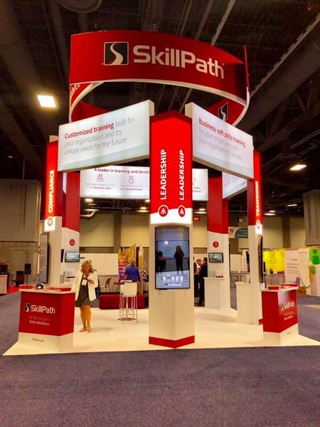 SkillPath Tradeshow Booth