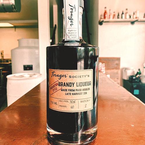Zin Brandy Liqueur, Prohibition Style
