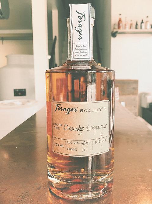 Forager Society's Orange Liqueur