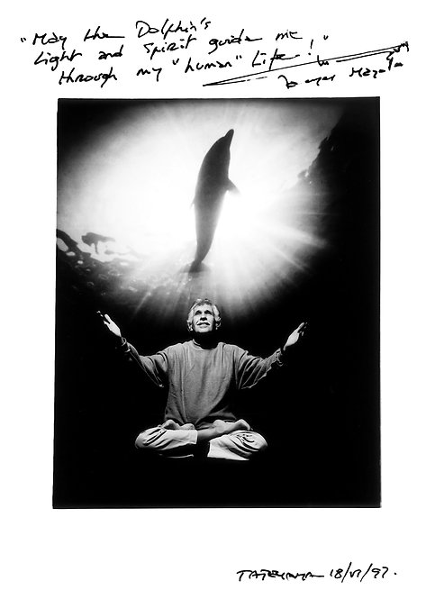 """Taisuke Yokoyama """"JACQUES MAYOL(イルカ)"""" print"""