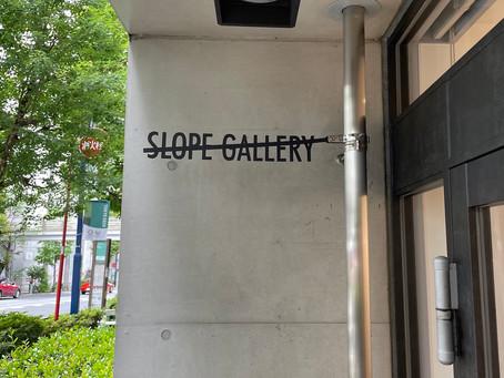 Slope Gallery再開のお知らせ