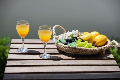Sun, Sea breath and the aroma of fresh fruits