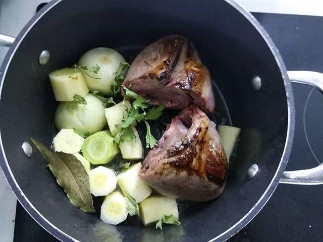 Cœur de veau braisé #abats #boucherie #c