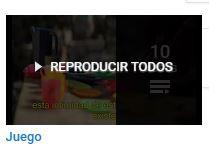 """Selección de videos sobre """"Juego"""""""