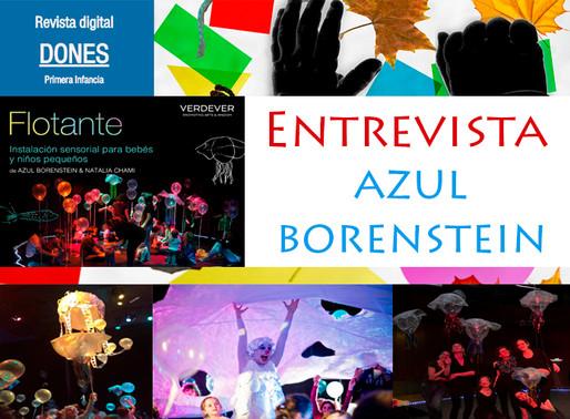 "Entrevista: Azul Borenstein ""Teatro Flotante"""