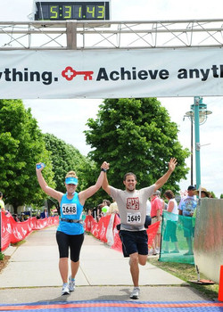 Kristin D. Mercurio, 2010 Marathon