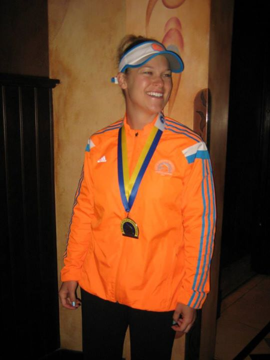 Kristin D. Mercurio Boston Marathon