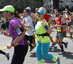 Kristin D. Mercurio Boston Marathon