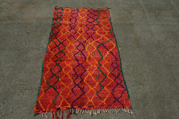 Azilal Tribal rug Crica 1950
