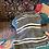 Thumbnail: Vintage Siirt Blanket Grey/White