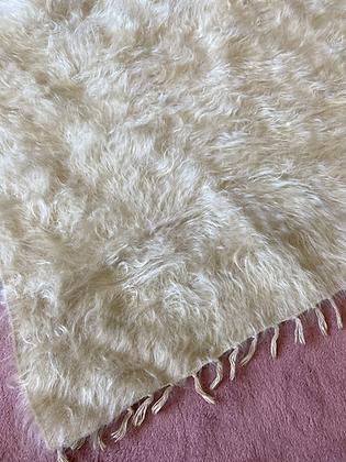 Vintage Siirt Blanket Cream