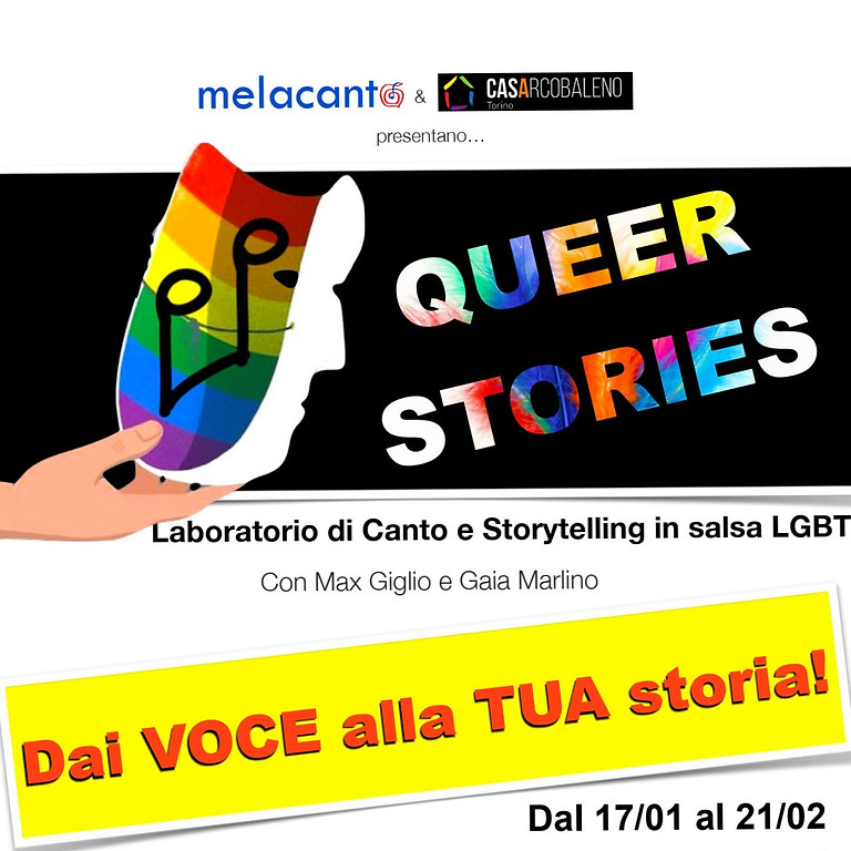 Queer stories - canto e storytelling in salsa LGBTQI