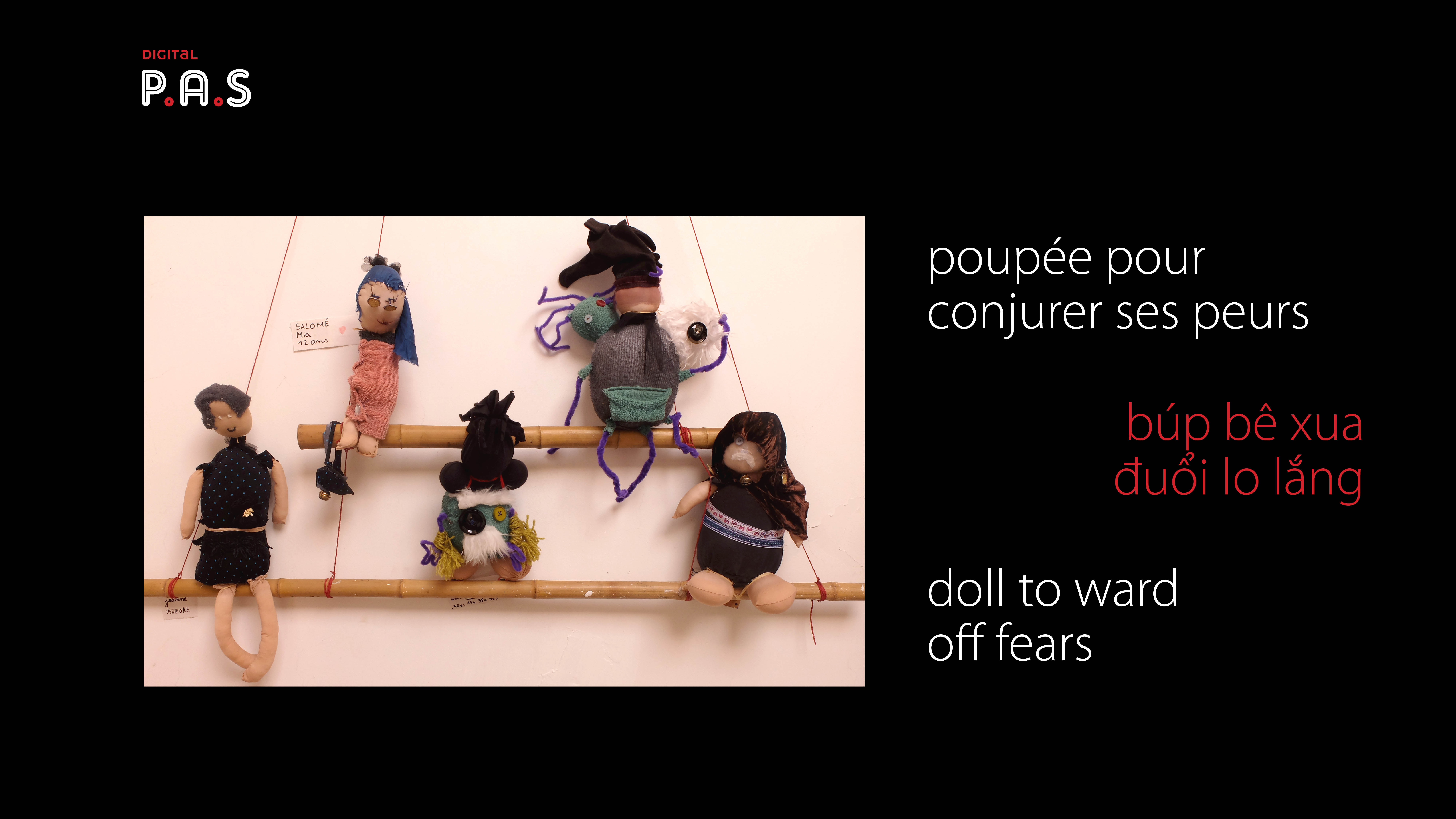 A doll to ward off fears