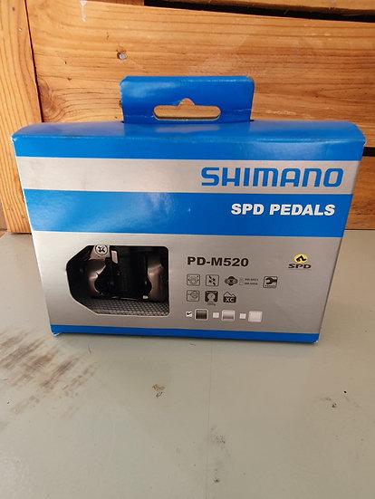 PEDAL SHIMANO SPD 520