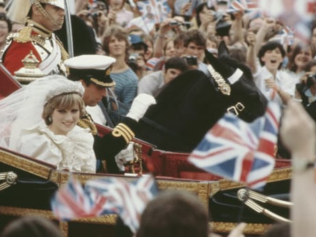 Charles and Diana's wedding - with Karen Kerbis