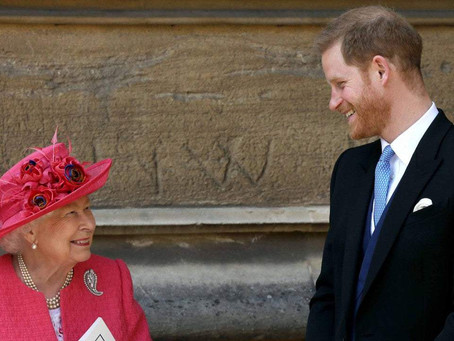 Queen strips Harry of military honours and ... ouch!