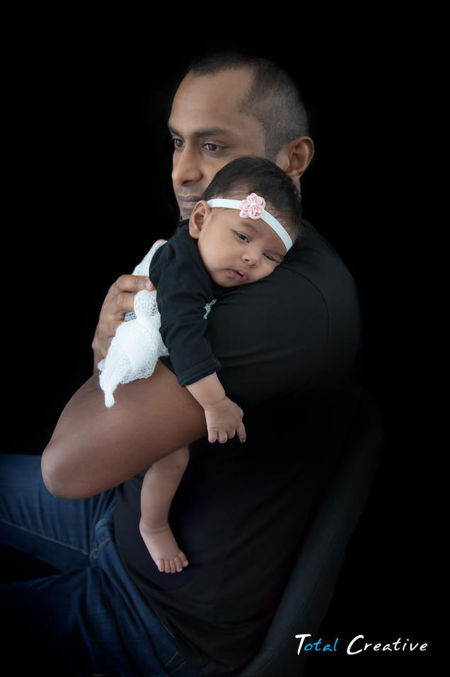 Father & Baby Photographer