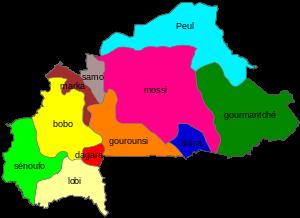 Cartographie des groupes ethniques